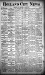 Holland City News, Volume 21, Number 27: July 30, 1892 by Holland City News