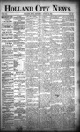 Holland City News, Volume 21, Number 30: August 20, 1892 by Holland City News