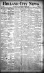 Holland City News, Volume 21, Number 32: September 3, 1892 by Holland City News