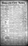 Holland City News, Volume 21, Number 33: September 10, 1892 by Holland City News