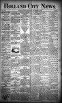 Holland City News, Volume 21, Number 34: September 17, 1892 by Holland City News