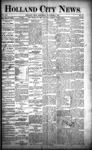 Holland City News, Volume 21, Number 41: November 5, 1892 by Holland City News