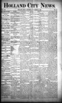 Holland City News, Volume 21, Number 42: November 12, 1892 by Holland City News