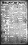 Holland City News, Volume 21, Number 44: November 26, 1892 by Holland City News
