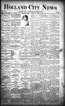Holland City News, Volume 21, Number 46: December 10, 1892 by Holland City News