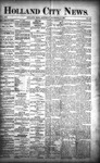 Holland City News, Volume 21, Number 47: December 17, 1892 by Holland City News