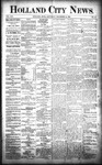 Holland City News, Volume 21, Number 48: December 24, 1892 by Holland City News