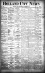 Holland City News, Volume 21, Number 49: December 31, 1892 by Holland City News