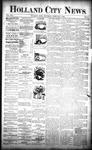 Holland City News, Volume 22, Number 2: February 4, 1893