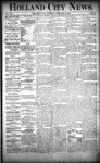 Holland City News, Volume 22, Number 5: February 25, 1893 by Holland City News