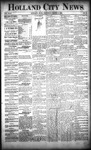 Holland City News, Volume 22, Number 6: March 4, 1893