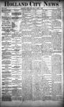 Holland City News, Volume 22, Number 10: April 1, 1893