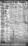 Holland City News, Volume 22, Number 11: April 8, 1893