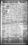 Holland City News, Volume 22, Number 17: May 20, 1893