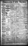Holland City News, Volume 22, Number 21: June 17, 1893