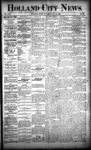 Holland City News, Volume 22, Number 30: August 19, 1893