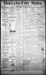 Holland City News, Volume 22, Number 40: October 28, 1893 by Holland City News
