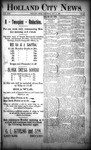 Holland City News, Volume 22, Number 42: November 11, 1893
