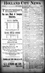 Holland City News, Volume 22, Number 43: November 18, 1893