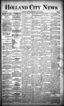 Holland City News, Volume 22, Number 44: November 25, 1893