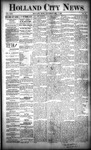 Holland City News, Volume 22, Number 45: December 2, 1893