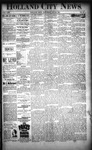 Holland City News, Volume 22, Number 52: January 20, 1894