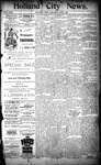 Holland City News, Volume 23, Number 2: February 3, 1894