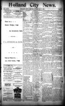 Holland City News, Volume 23, Number 3: February 10, 1894