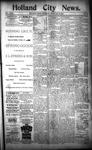 Holland City News, Volume 23, Number 5: February 24, 1894