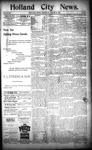 Holland City News, Volume 23, Number 7: March 10, 1894