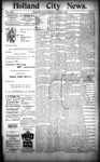 Holland City News, Volume 23, Number 10: March 31, 1894