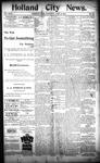 Holland City News, Volume 23, Number 13: April 21, 1894