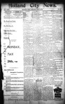 Holland City News, Volume 23, Number 18: May 26, 1894