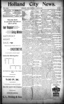 Holland City News, Volume 23, Number 27: July 28, 1894