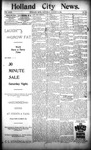 Holland City News, Volume 23, Number 30: August 18, 1894