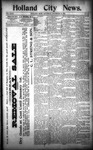 Holland City News, Volume 23, Number 44: November 24, 1894
