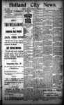 Holland City News, Volume 23, Number 49: December 29, 1894