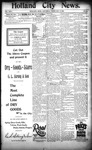 Holland City News, Volume 24, Number 4: February 16, 1895