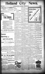 Holland City News, Volume 24, Number 10: March 30, 1895