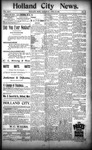 Holland City News, Volume 24, Number 13: April 20, 1895 by Holland City News