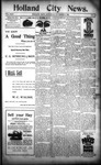 Holland City News, Volume 24, Number 42: November 9, 1895 by Holland City News