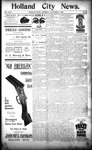 Holland City News, Volume 24, Number 43: November 16, 1895