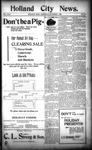 Holland City News, Volume 24, Number 46: December 7, 1895 by Holland City News