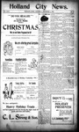Holland City News, Volume 24, Number 47: December 14, 1895