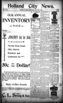 Holland City News, Volume 24, Number 50: January 4, 1896