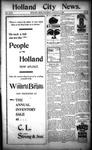 Holland City News, Volume 24, Number 51: January 11, 1896