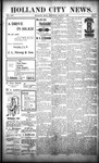 Holland City News, Volume 25, Number 7: March 7, 1896