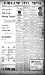 Holland City News, Volume 25, Number 20: June 6, 1896