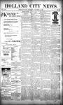 Holland City News, Volume 25, Number 44: November 21, 1896 by Holland City News