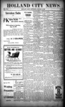 Holland City News, Volume 25, Number 51: January 9, 1897